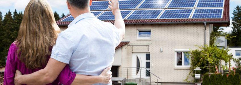 Эффективность работы солнечных панелей.