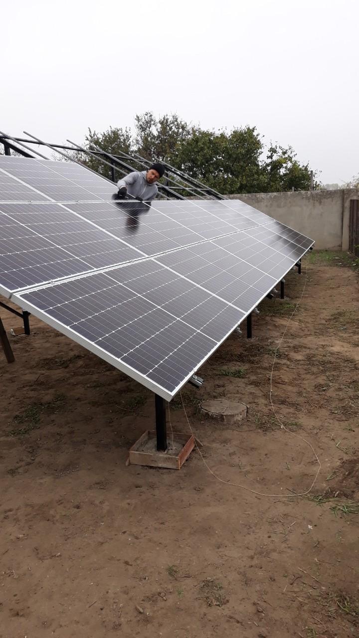 солнечные станции монтаж