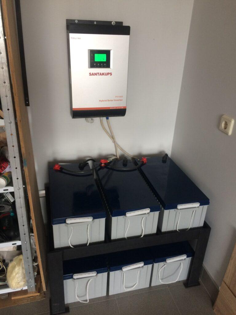 Система аварийного/резервного электроснабжения